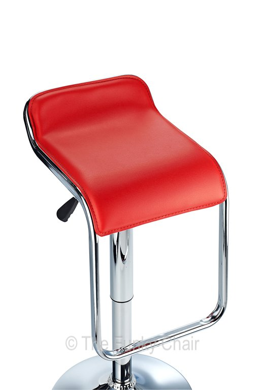 STYLISH MILANO BAR STOOL AVAILABLE IN RED, WHITE & BLACK